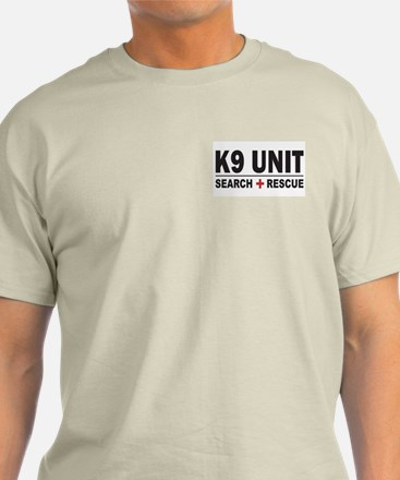 K9 Unit Search Rescue Sticker T-Shirt