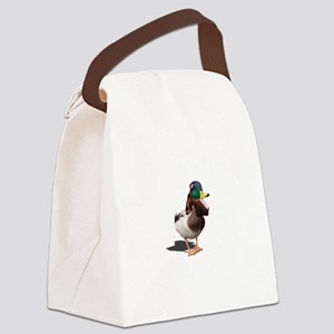 Dynasty Duck Canvas Lunch Bag