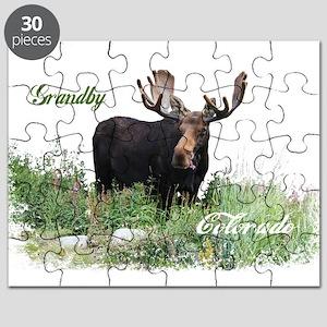 Grandby CO Moose Puzzle