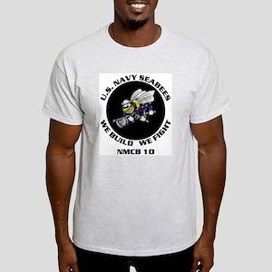 NMCB 10 Ash Grey T-Shirt