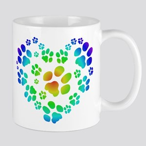 Paws of the Heart Mug