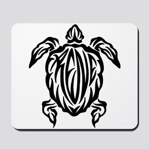 Rene Sea Turtle Tribal Tattoo Mousepad