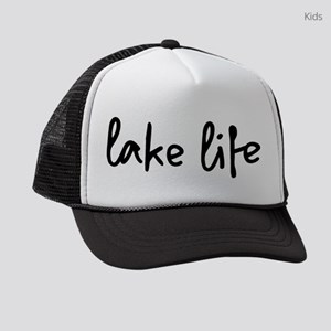 ac6cdf036e927 Lake Kids Trucker Hats - CafePress