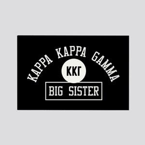 Kappa Kappa Gamma Big Sister Athl Rectangle Magnet