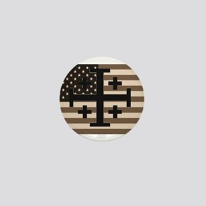 American Crusader Mini Button