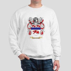 Gannon Coat of Arms (Family Crest) Sweatshirt