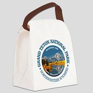Grand Teton NP Canvas Lunch Bag