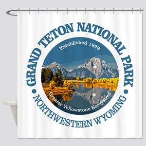 Grand Teton NP Shower Curtain