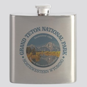 Grand Teton NP Flask