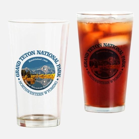 Grand Teton NP Drinking Glass