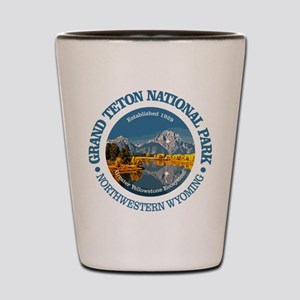 Grand Teton NP Shot Glass