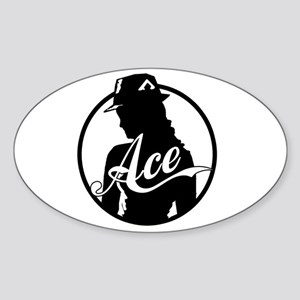 Ace Reporter Oval Sticker