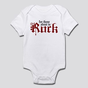 ABOUT TO ROCK Infant Bodysuit