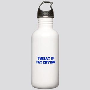 sweat-is-just-fat-crying-6-fresh-blue Water Bottle