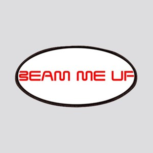 beam-me-up-saved-red Patches