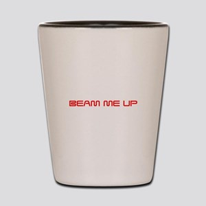 beam-me-up-saved-red Shot Glass