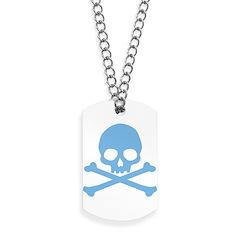 skull-blue_new Dog Tags