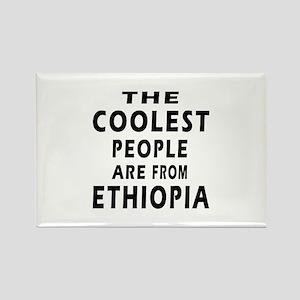 The Coolest Ethiopia Designs Rectangle Magnet