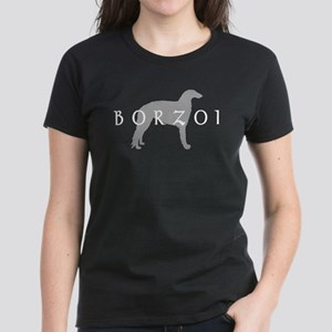 borzoi grey blkwdwh T-Shirt