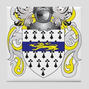 Garrett Coat of Arms (Family Crest) Tile Coaster