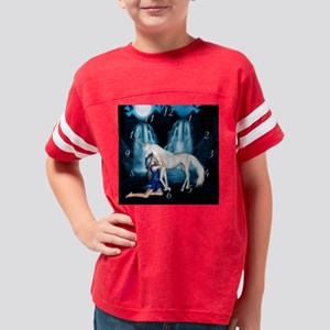 Never let go Unicorn Clock Youth Football Shirt