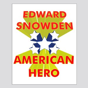 EDWARD SNOWDEN AMERICAN HERO Posters