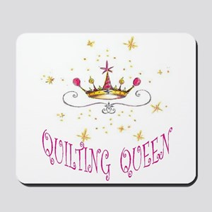 QUILTING QUEEN Mousepad
