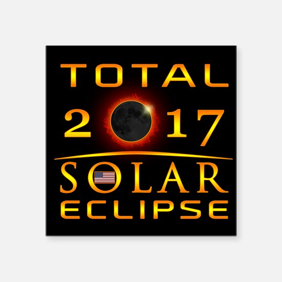 Total 2017 Solar Eclipse Sticker