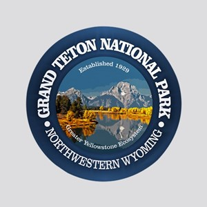 Grand Teton NP Button