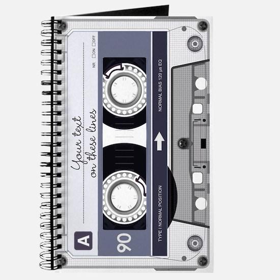 Customizable Cassette Tape - Grey Journal