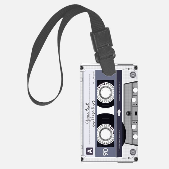 Customizable Cassette Tape - Gre Luggage Tag