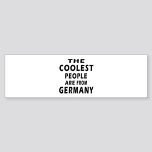 The Coolest Germany Designs Sticker (Bumper)