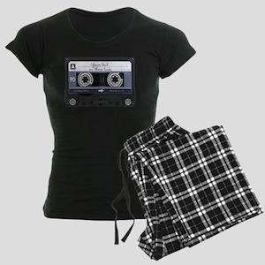 Customizable Cassette Tape - Women's Dark Pajamas