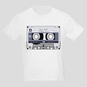 Customizable Cassette Tape - Gr Kids Light T-Shirt