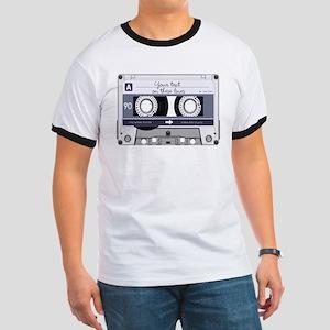 Customizable Cassette Tape - Grey Ringer T