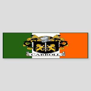 Carroll Arms Flag Sticker (Bumper)