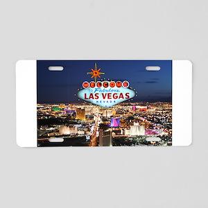 Las Vegas Aluminum License Plate