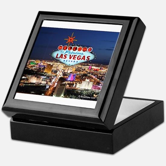 Las Vegas Keepsake Box