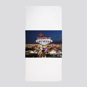 Las Vegas Beach Towel