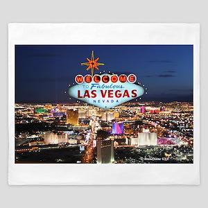 Las Vegas King Duvet