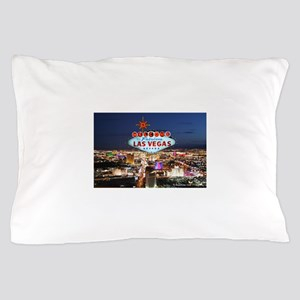 Las Vegas Pillow Case