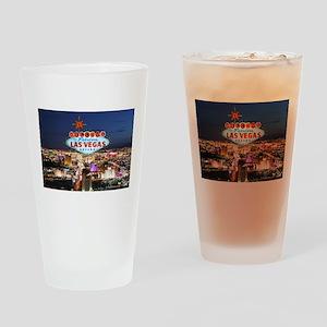 Las Vegas Drinking Glass