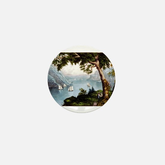 The Hudson highlands - 1871 Mini Button