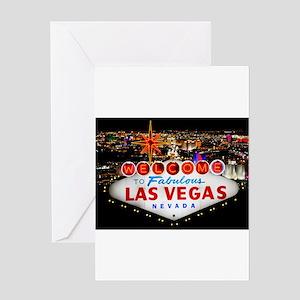 Las Vegas Greeting Card