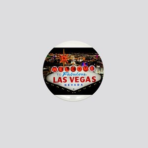 Las Vegas Mini Button