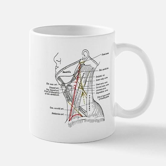 Neck Diagram Mug