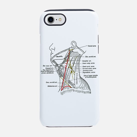 Neck Diagram iPhone 7 Tough Case