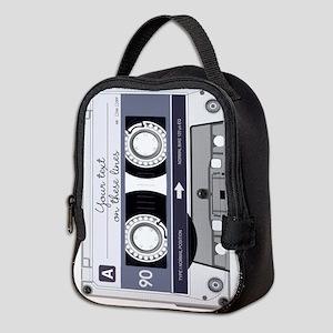 Customizable Cassette Tape - Gr Neoprene Lunch Bag