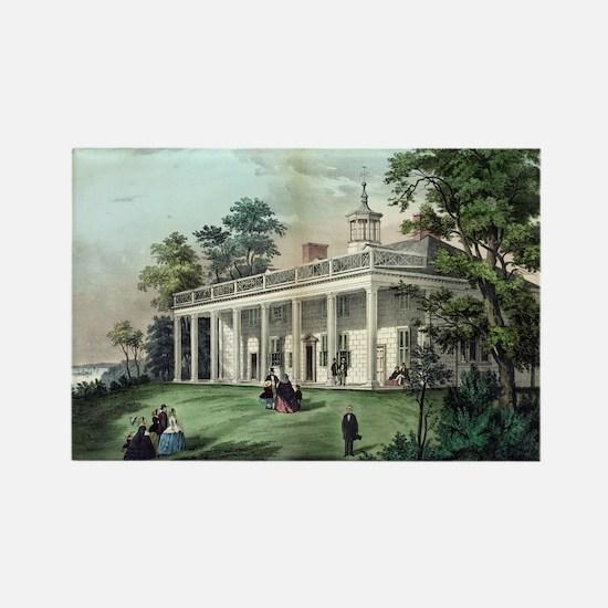 The home of Washington, Mount Vernon, VA - 1872 Ma