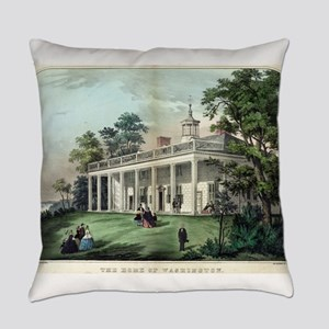 The home of Washington, Mount Vernon, VA - 1872 Ev